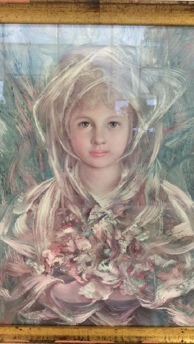 Framed Print Of Child Figure - 2