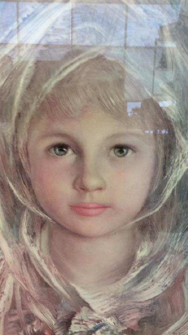 Framed Print Of Child Figure - 3