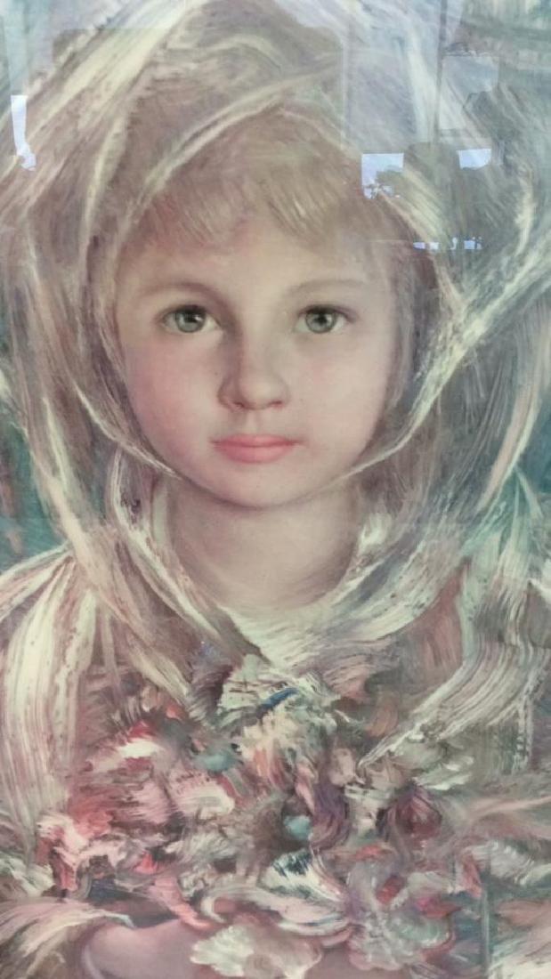 Framed Print Of Child Figure - 4