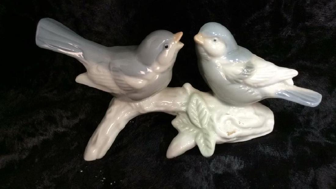 Lot 5 Porcelain Table Top Bird Decor - 3