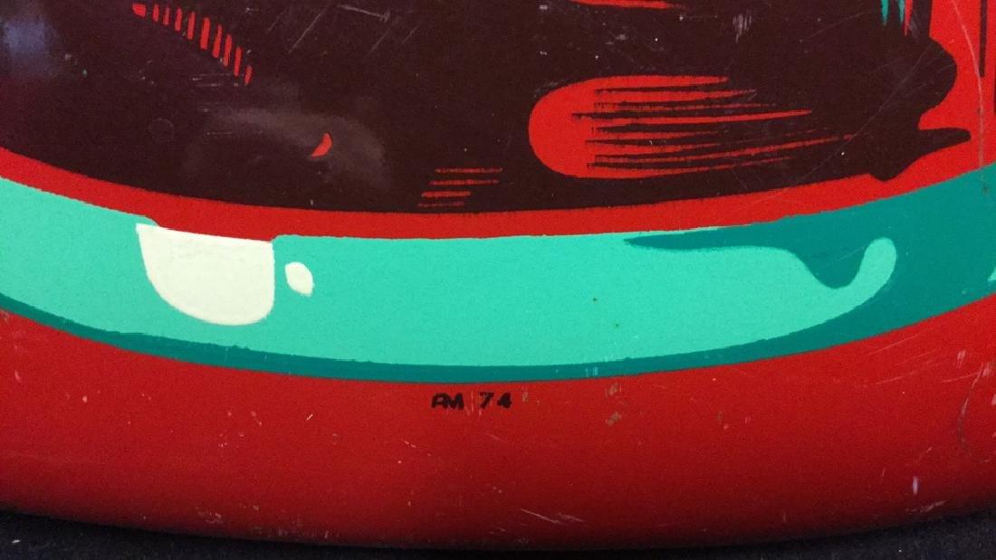 Vintage Coca-Cola Button Sign AM 74 - 6