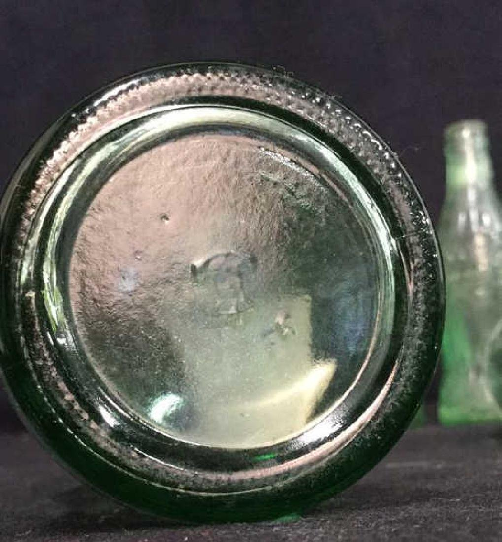 Vintage Coca Cola Carry Tray With Bottles - 10