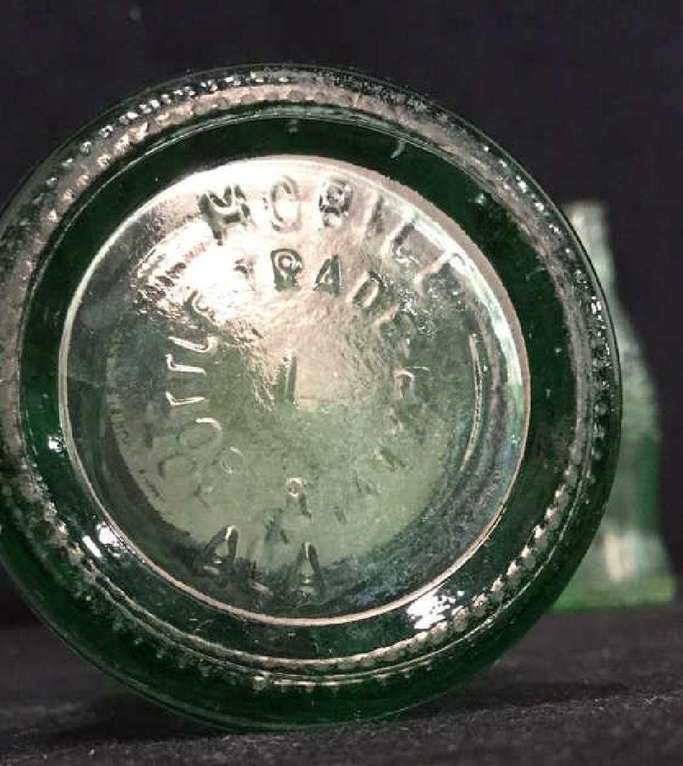 Vintage Coca Cola Carry Tray With Bottles - 8