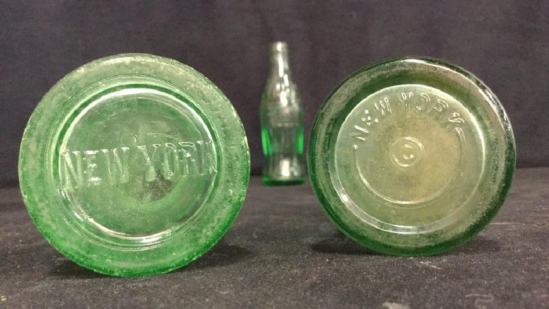 Vintage Coca Cola Carry Tray With Bottles - 9