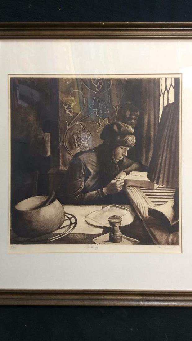 HARRY MCCORMICK READING Etching 24/180 - 3