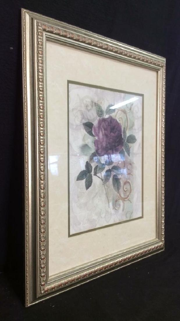 Framed & Matted Floral Botanical Print - 10