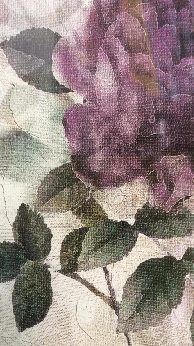 Framed & Matted Floral Botanical Print - 7