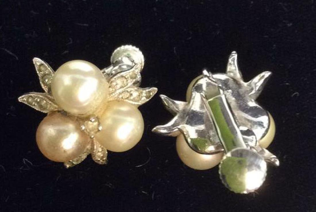 Group Lot 5 Vintage Pearl Jewelry - 10