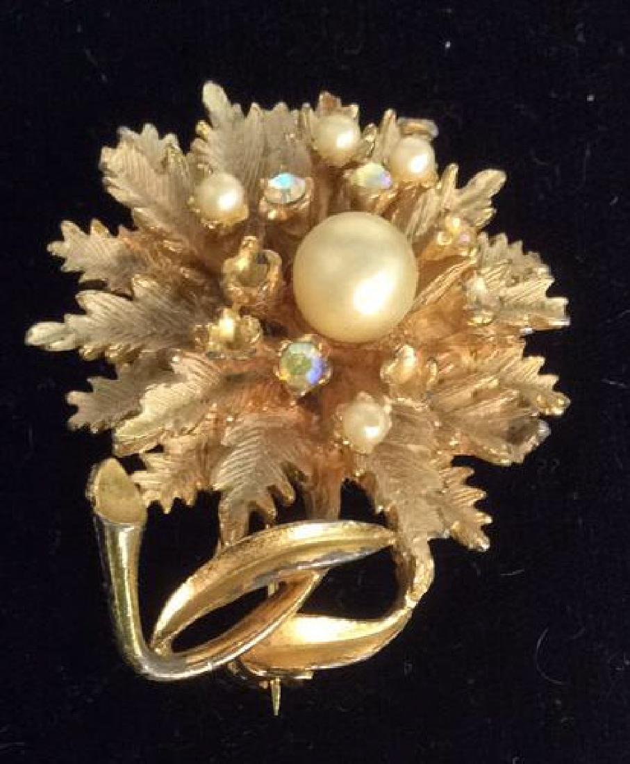 Group Lot 5 Vintage Pearl Jewelry - 2