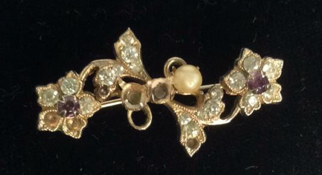 Group Lot 5 Vintage Pearl Jewelry - 6