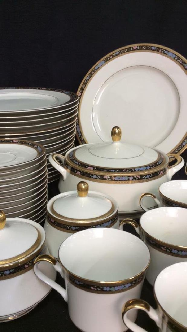 Set 80 MIKASA Fine China King's Gold Dishes - 2