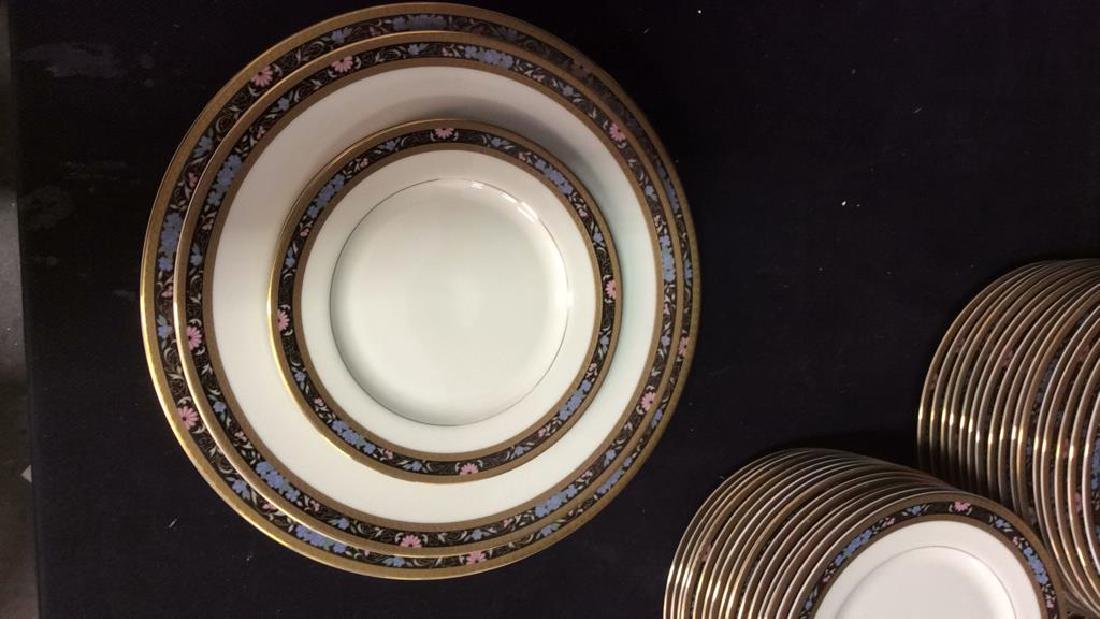 Set 80 MIKASA Fine China King's Gold Dishes - 3