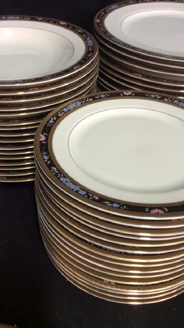 Set 80 MIKASA Fine China King's Gold Dishes - 4