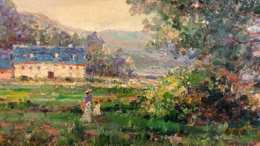 K EMBROSE Framed Impressionist Painting