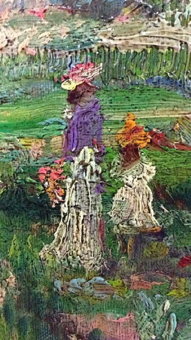 K EMBROSE Framed Impressionist Painting - 9
