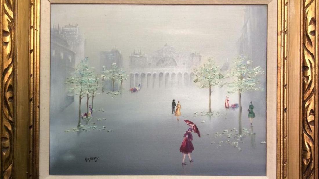 AUBREY Framed Painting On Canvas - 2