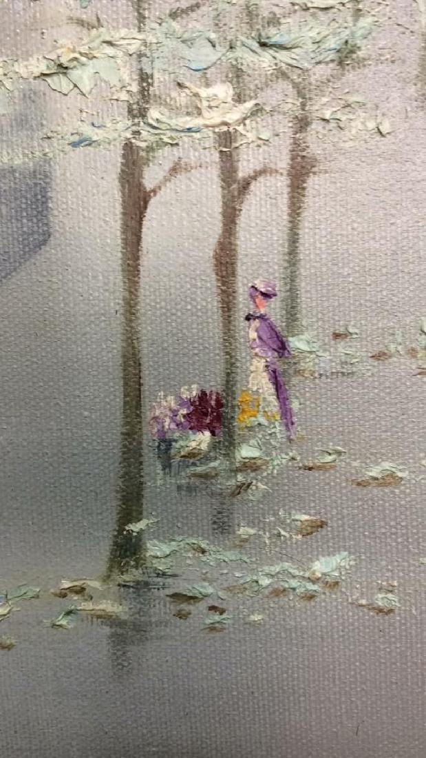 AUBREY Framed Painting On Canvas - 4