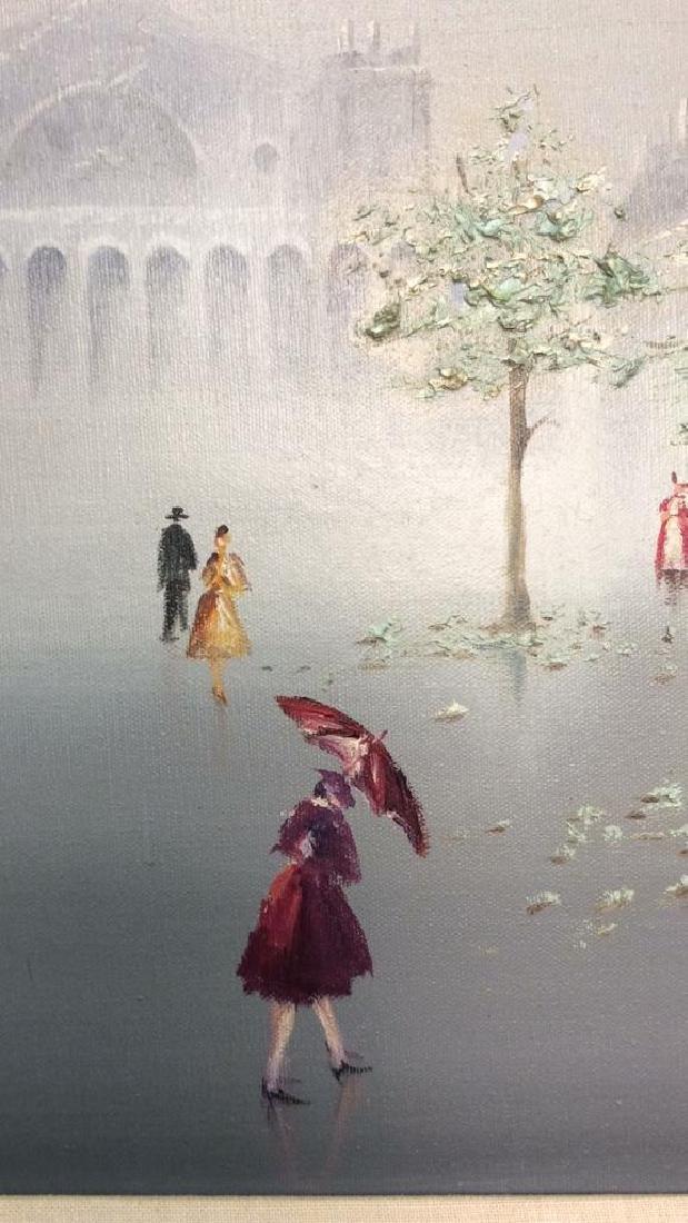 AUBREY Framed Painting On Canvas - 5