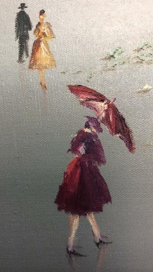 AUBREY Framed Painting On Canvas - 6