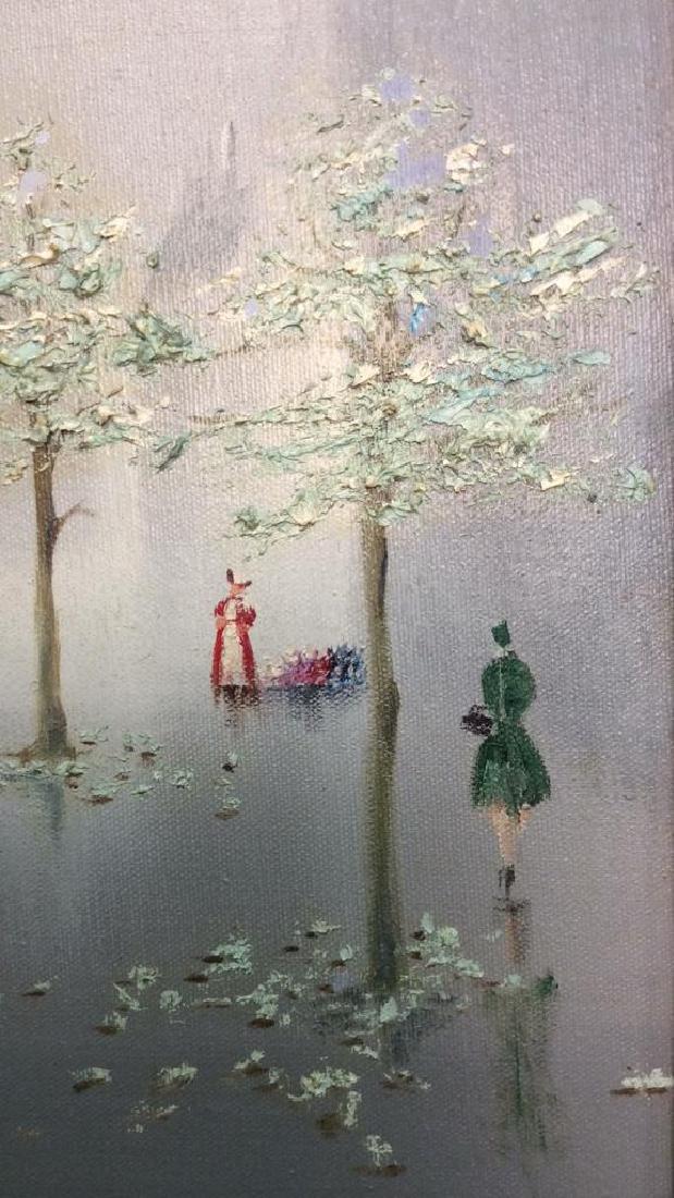 AUBREY Framed Painting On Canvas - 7