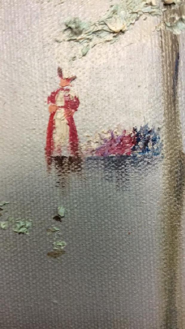 AUBREY Framed Painting On Canvas - 9
