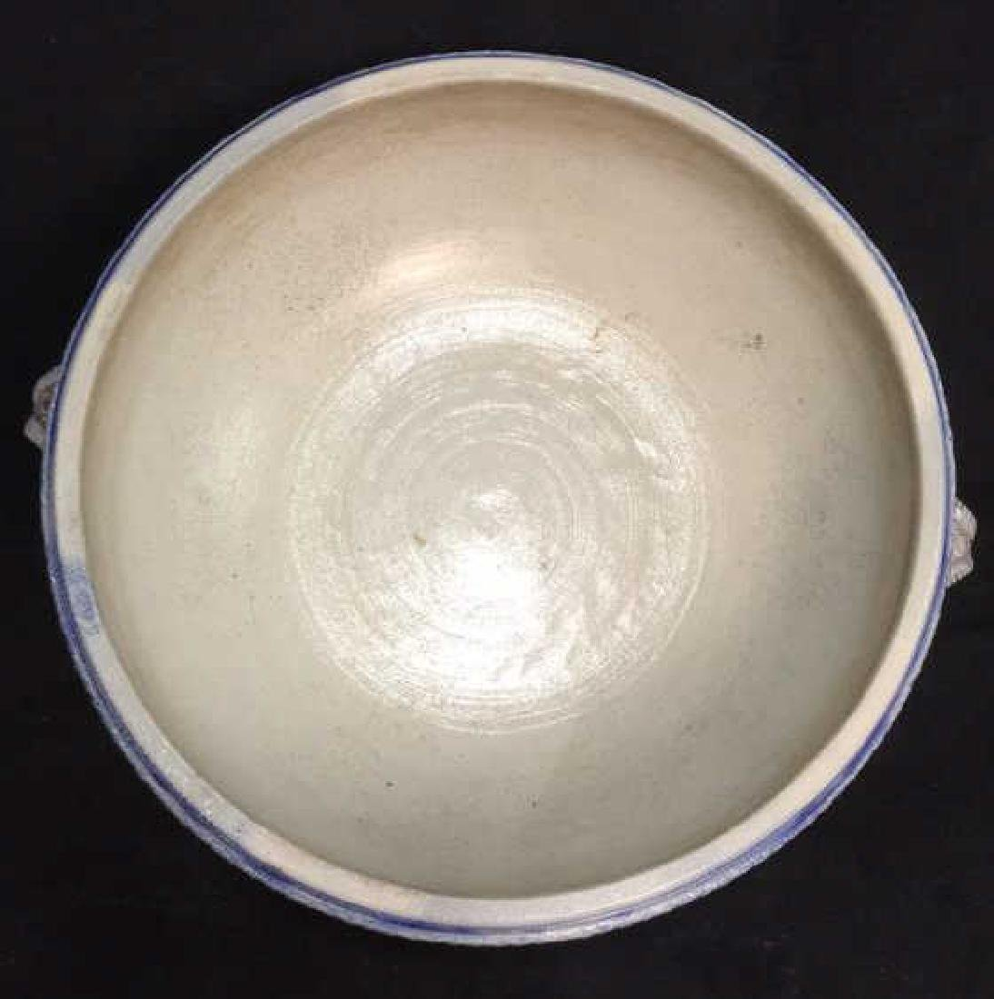Hand Painted Centerpiece Bowl W Handles Germany - 8
