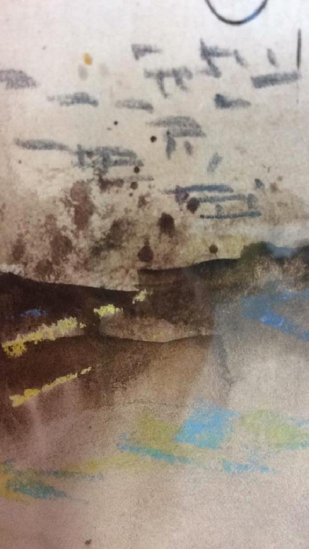 Framed Watercolor Painting of Jerusalem - 7