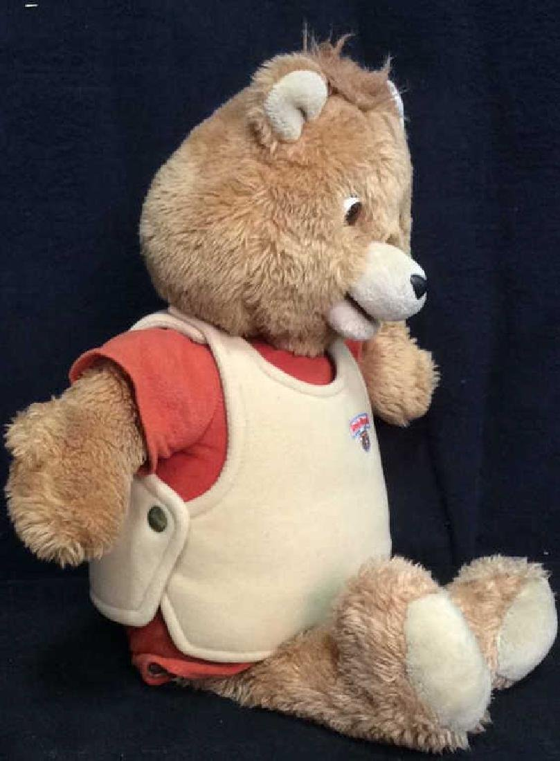 Vintage WorldofWonder Talking Teddy Ruxpin - 3