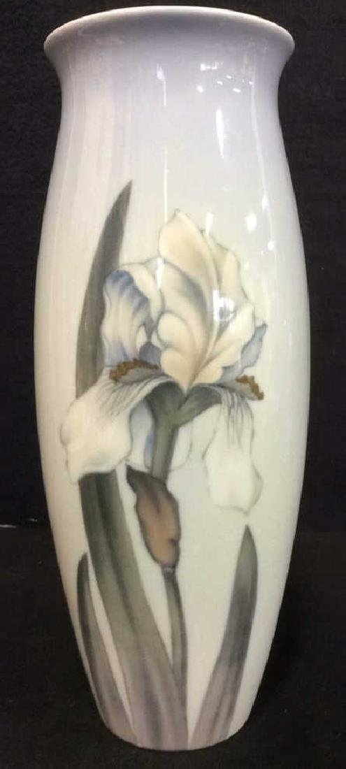 ROYAL COPENHAGEN Floral Detailed Porcelain Vase - 2