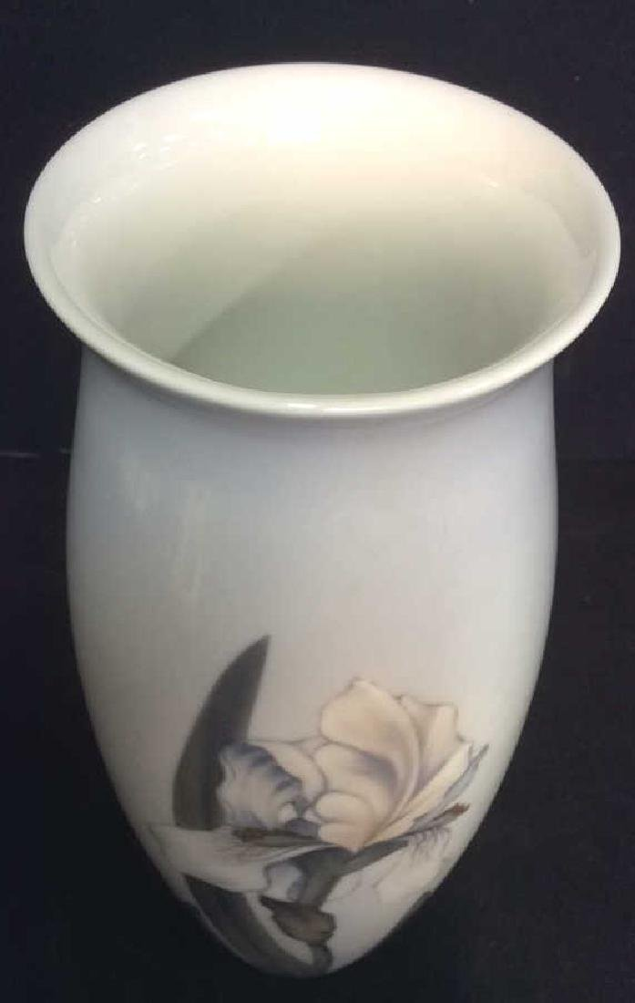 ROYAL COPENHAGEN Floral Detailed Porcelain Vase - 4