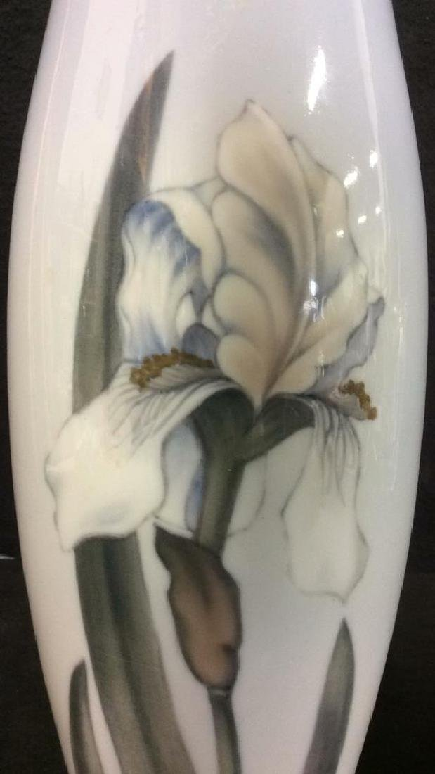 ROYAL COPENHAGEN Floral Detailed Porcelain Vase - 5