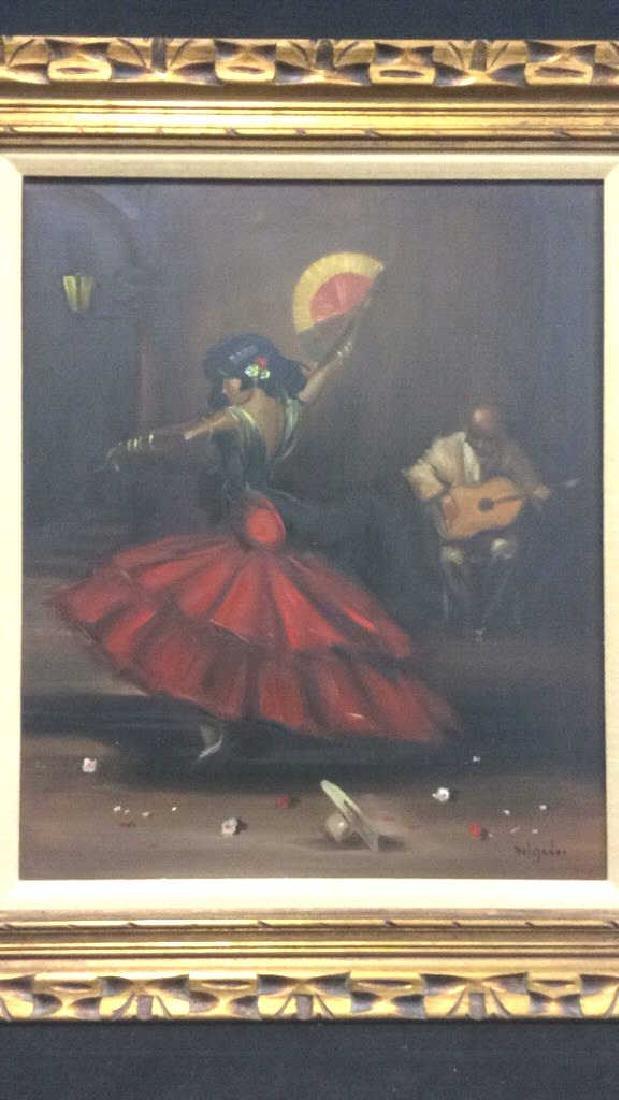 DELGADO Framed Painting On Canvas - 2