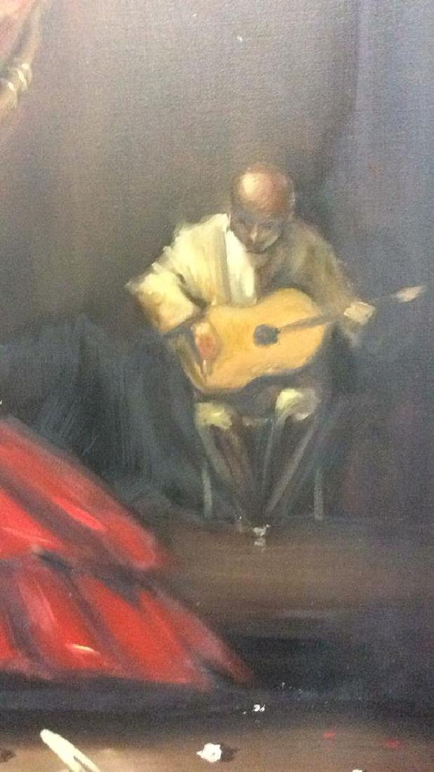 DELGADO Framed Painting On Canvas - 5