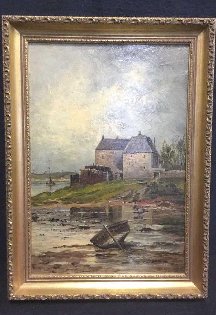 Oil Painting On Board Attributed to W H Donaldson