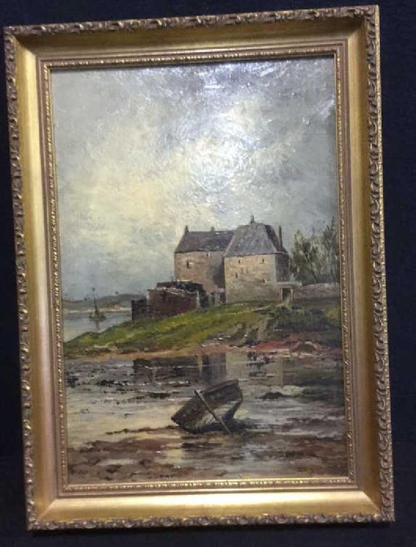 Oil Painting On Board Attributed to W H Donaldson - 7