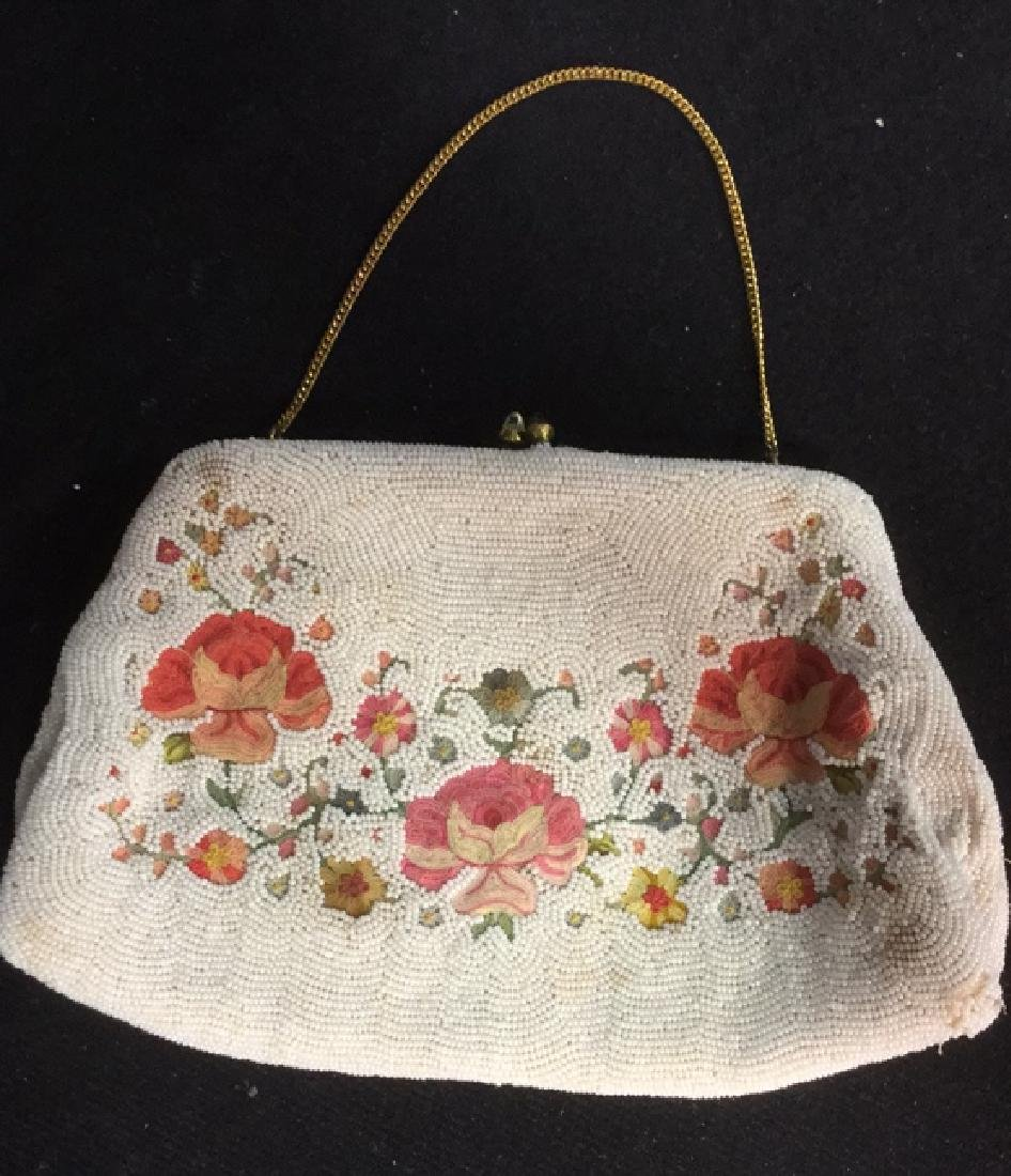 Lot 6 Vintage Possibly Antique Beaded Handbags - 2