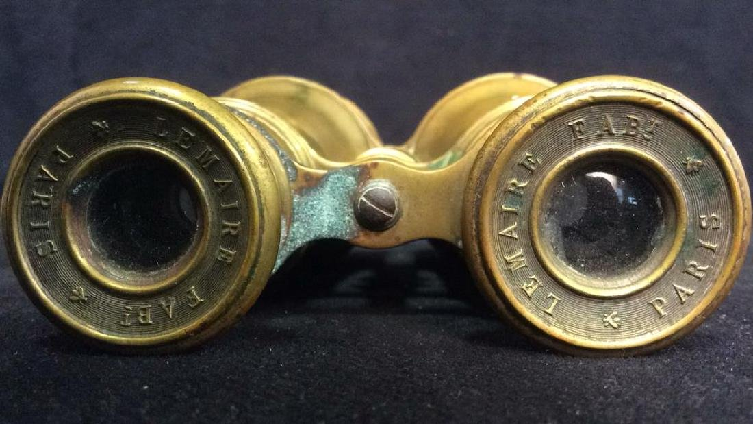 LEMAIRE FAB PARIS Gold Toned Opera Glasses - 5