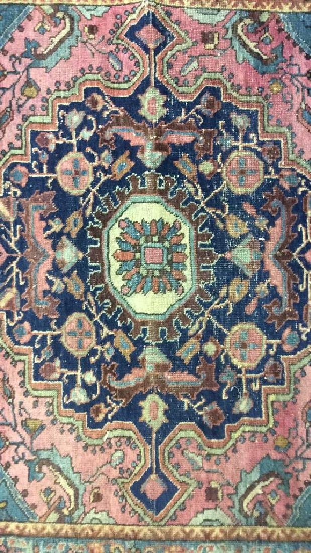 Handmade Antique Multi Toned Wool Rug - 3