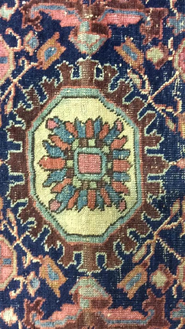 Handmade Antique Multi Toned Wool Rug - 4