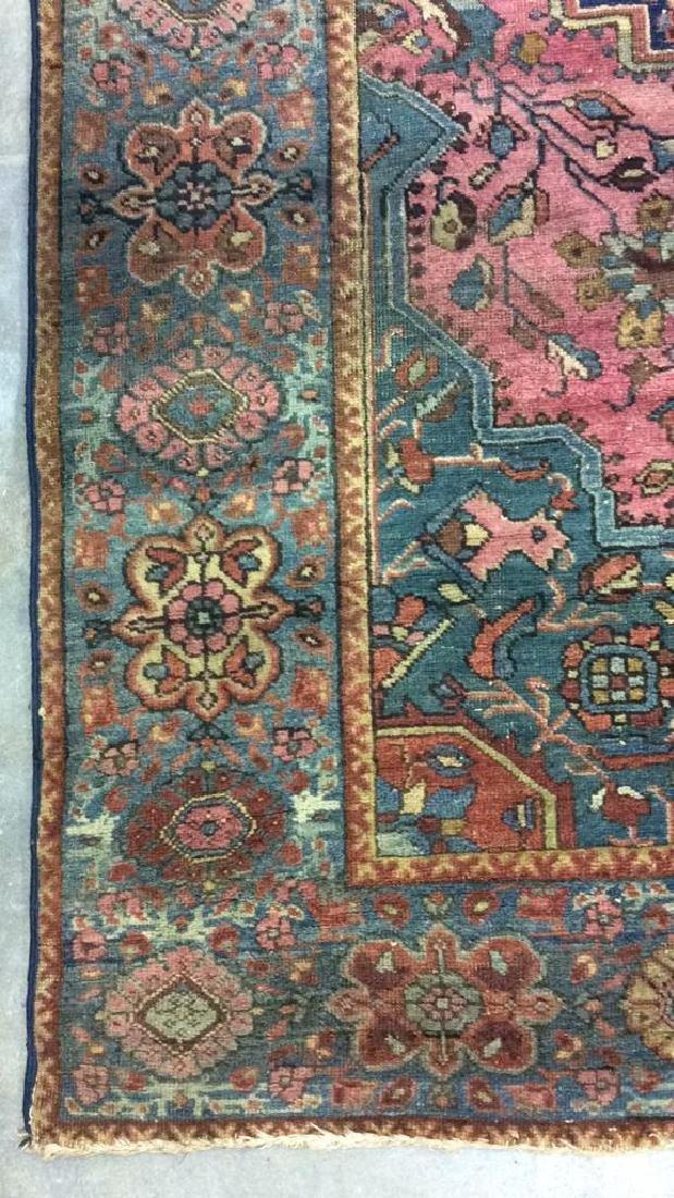 Handmade Antique Multi Toned Wool Rug - 5