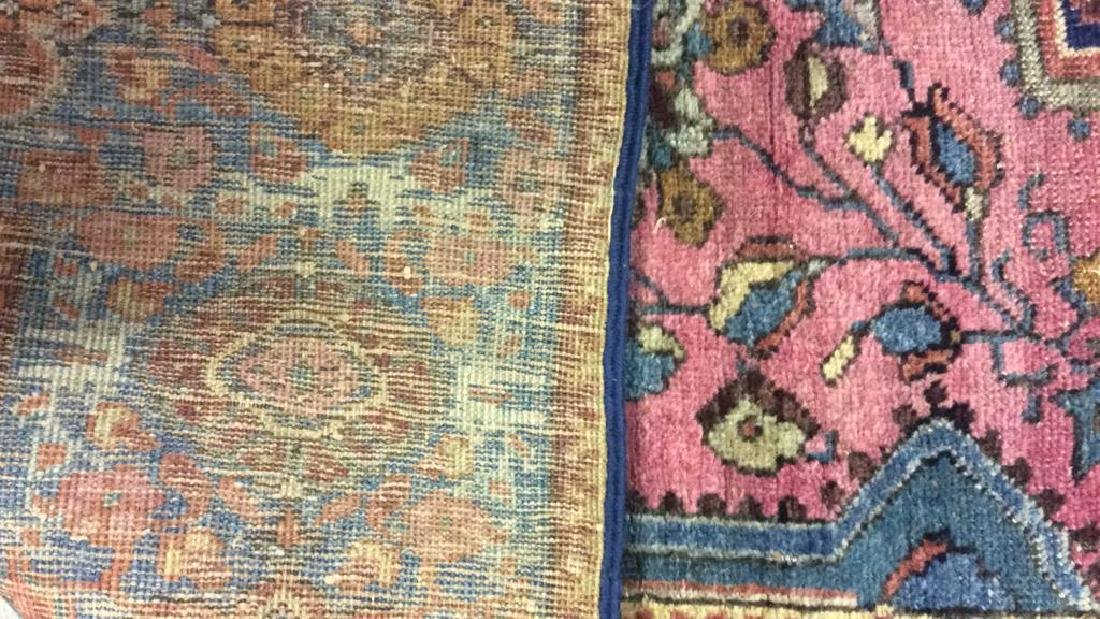 Handmade Antique Multi Toned Wool Rug - 7