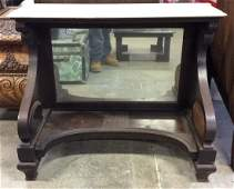Vintage Marble Top Console Pier Table