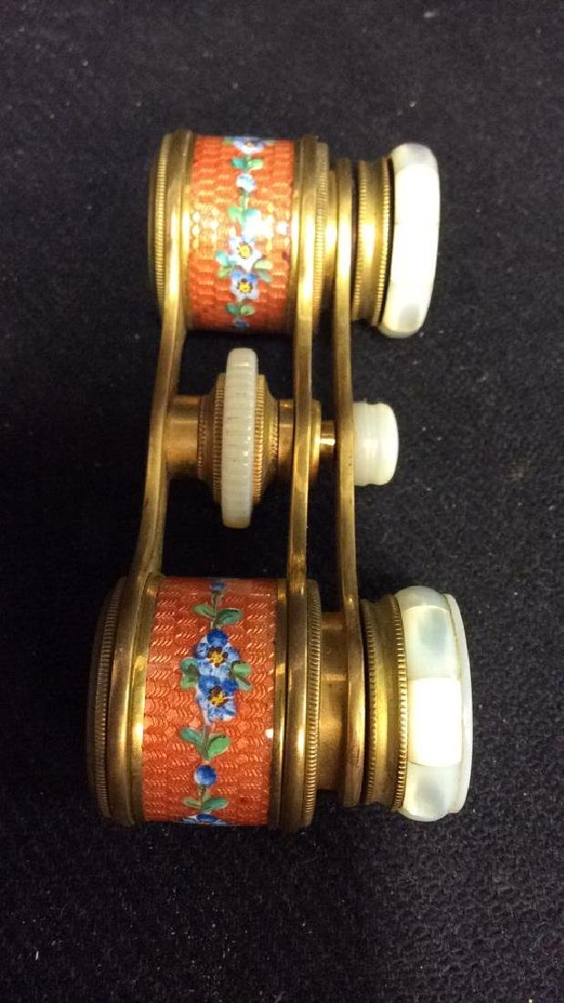 Vintage COLMONT PARIS Opera Glasses - 8