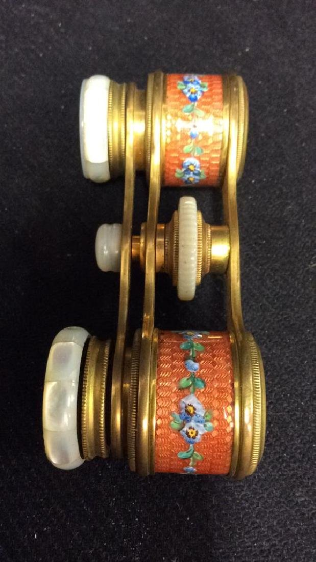 Vintage COLMONT PARIS Opera Glasses - 9