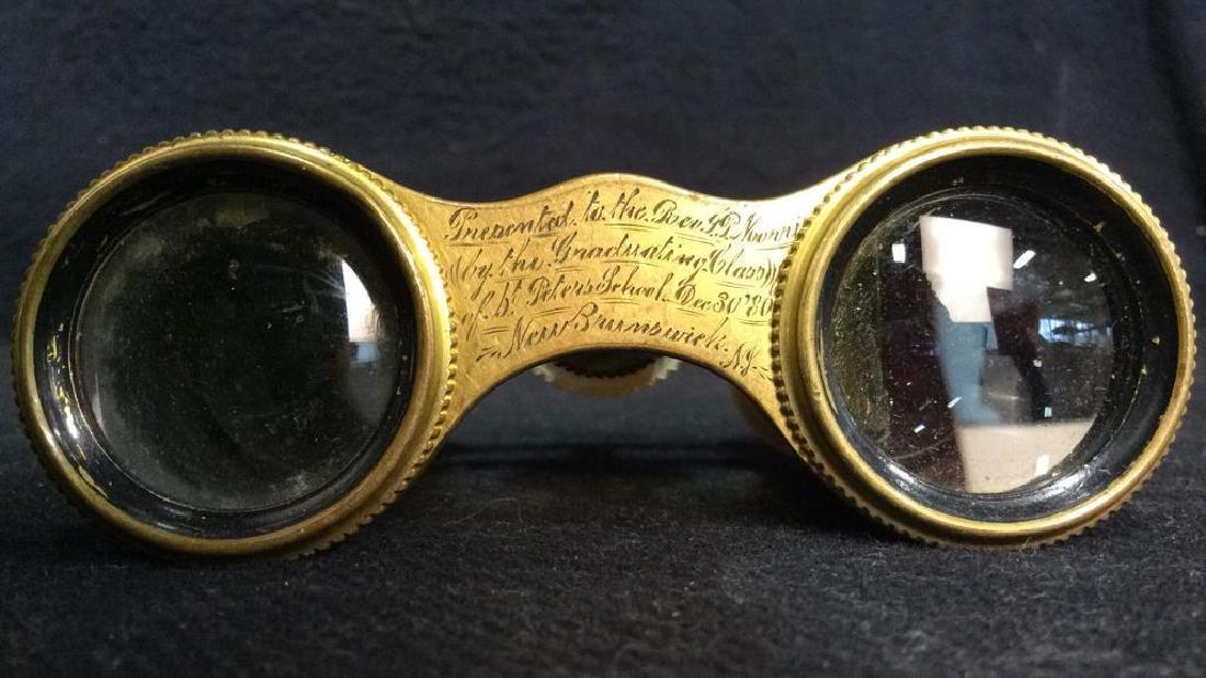 Vintage DEMAIRE PARIS Opera Glasses - 4