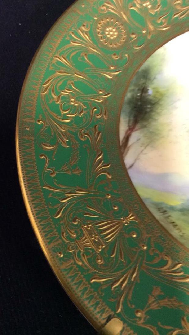 Lot 3 ROYAL WORCESTER Porcelain Plates - 10