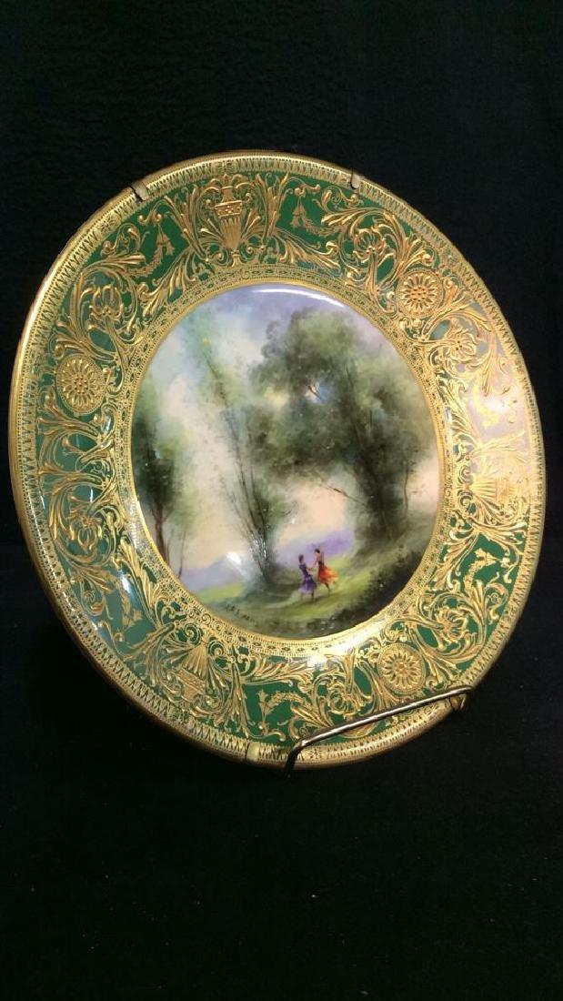 Lot 3 ROYAL WORCESTER Porcelain Plates - 3