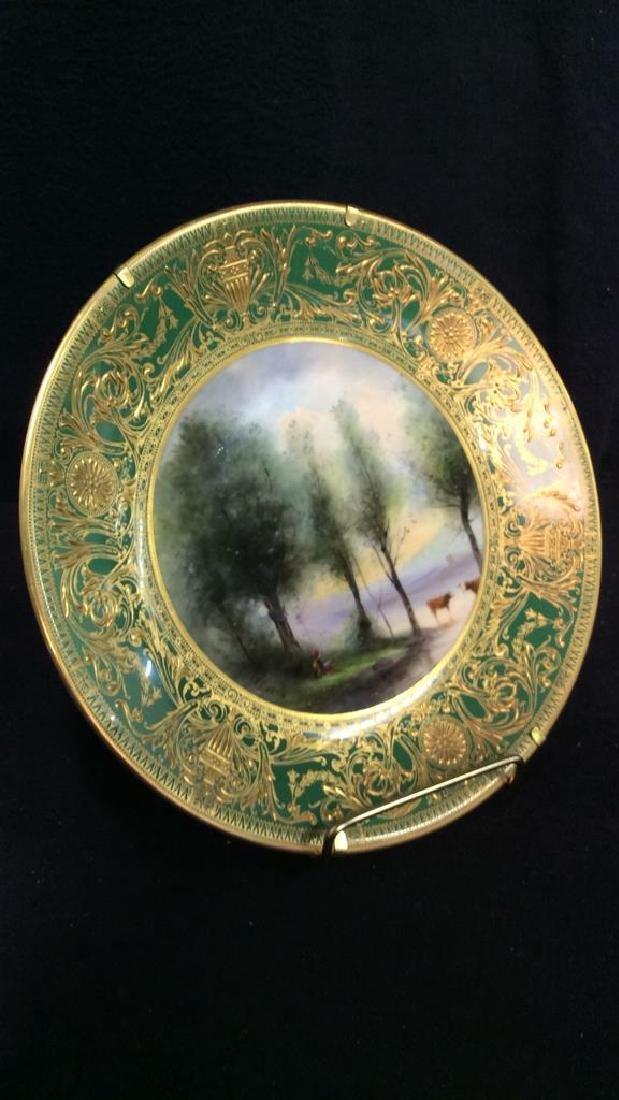 Lot 3 ROYAL WORCESTER Porcelain Plates - 4