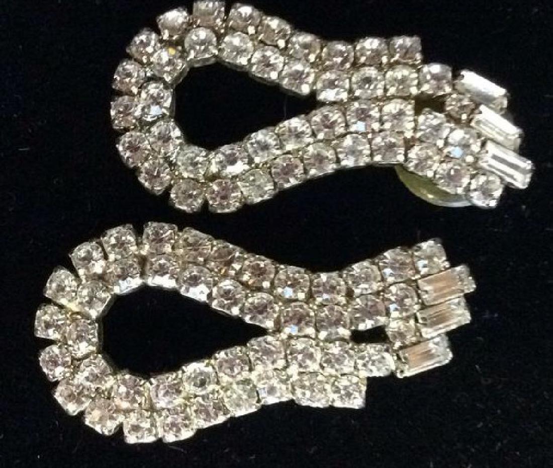 Vintage Rhinestone Estate Jewelry Group - 2