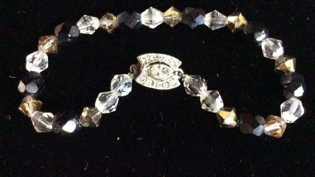 Vintage Rhinestone Estate Jewelry Group - 4
